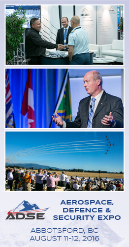 Aerospace, Defence and Security Expo - ADSE 2016 - Abbotsford, BC - AIAC Pacific